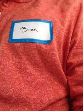 Hello, my name is Brian.