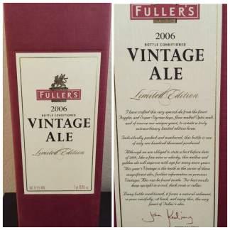 2006 Fuller's Vintage Ale