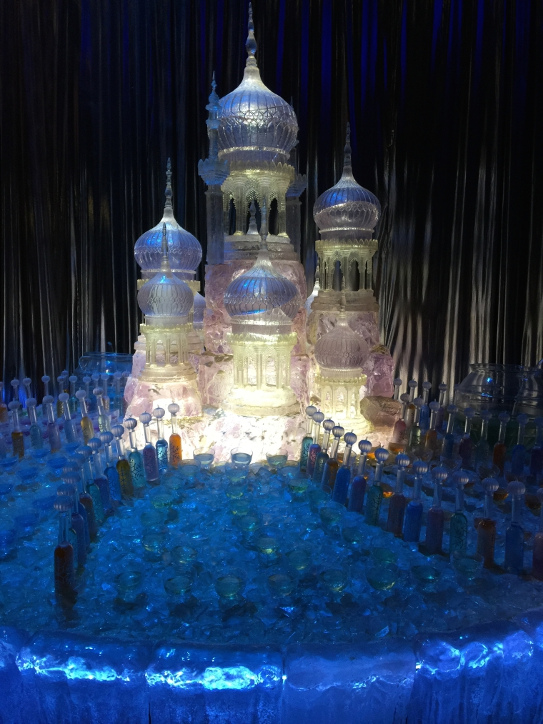 Ice sculpture from the Yule Ball