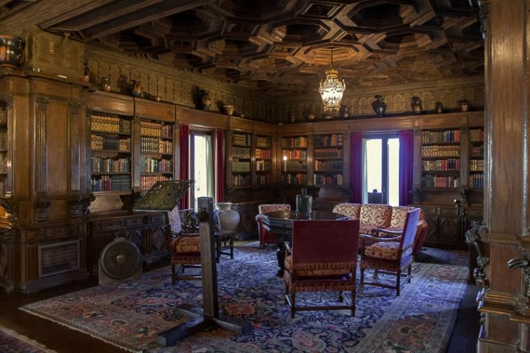 hearst-castle-library-julie-boyd-photo