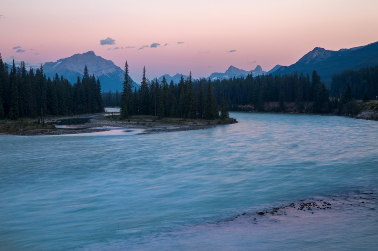 jasper-sunset-athabasca-river
