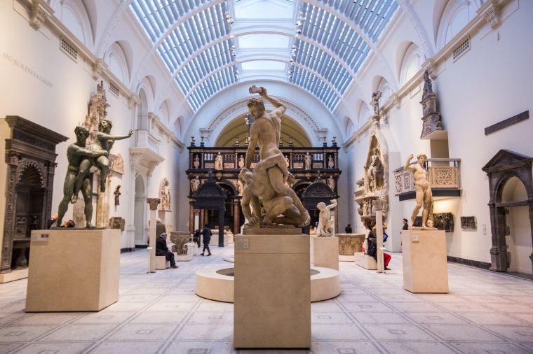 London-Victoria-And-Albert-Museum-Interior